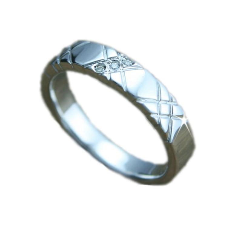 ペアリング 指輪 プラチナ リング ダイヤリング...の商品画像