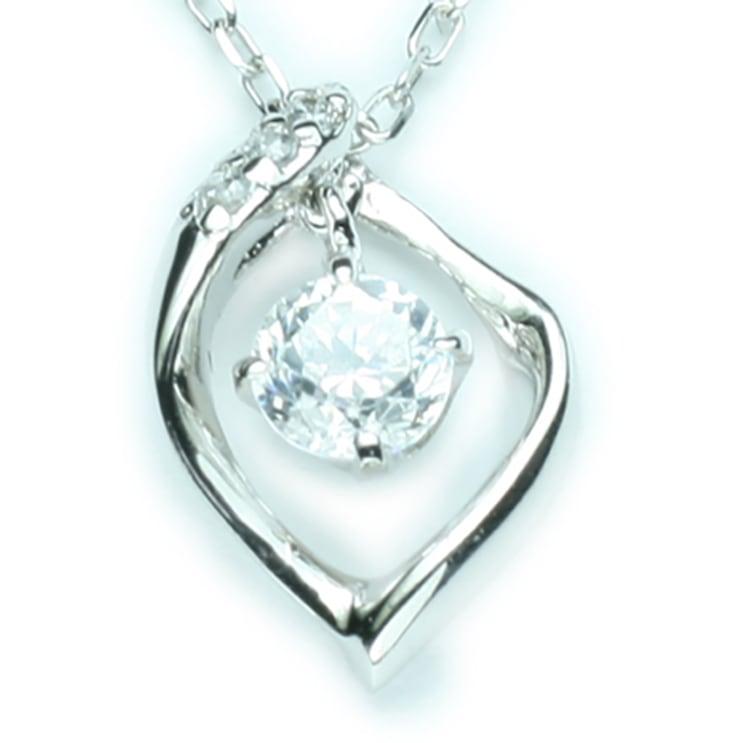 ネックレス プラチナ ダイヤモンド【送料無料】母...の商品画像