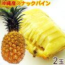 【送料無料】沖縄産スナックパイン2個入(1.5〜2kg)  ボゴールパイン 