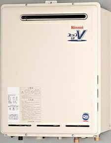 【代引き不可】リンナイ ガス給湯器 24号 設置フリータイプ 屋外壁掛・PS設置型 フルオート 24号【RUF-A2400AW(A)】ユッコUFシリーズ