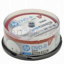 hp(ヒューレット・パッカード) 録画用DVD-Rホワイト・ディスク(SPケース)DR120CHPW25PA 25枚入