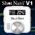 ☆ショットナビV1(Shot Navi V1-WH)【ホワイト】GPSゴルフナビゲーター【高感度GPS搭載・ゴルフナビゲーション】簡単操作・距離計測器【送料無料】