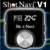 ☆ショットナビV1(Shot Navi V1-BK)【ブラック】GPSゴルフナビゲーター【高感度GPS搭載・ゴルフナビゲーション】簡単操作・距離計測器【送料無料】