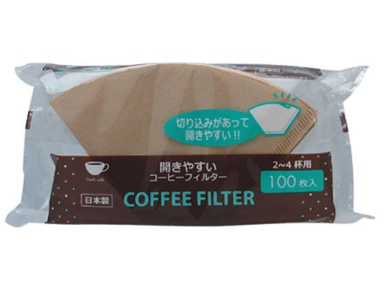 アートナップ/コーヒーフィルター 100枚入 ブラウン/OC-06