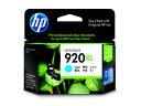 HP/インクカートリッジ シアン HP920XL (CD972AA)/CD972AA