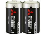 三菱/マンガン乾電池 単1形 2本入/R20PU/2S