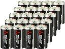 三菱/マンガン乾電池 単2形 20本/R14PUD/2S