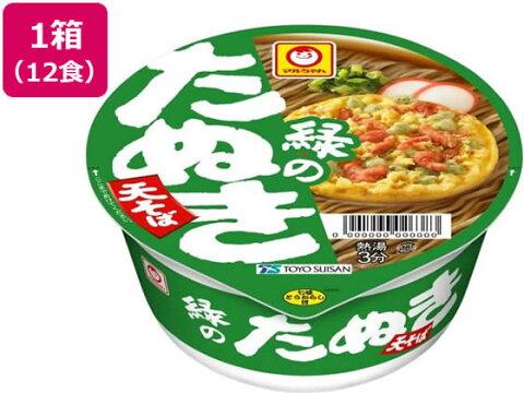 東洋水産/緑のたぬき天そば(東) 12食入