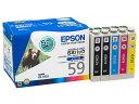 エプソン/インクカートリッジ 5本パック/IC5CL59...