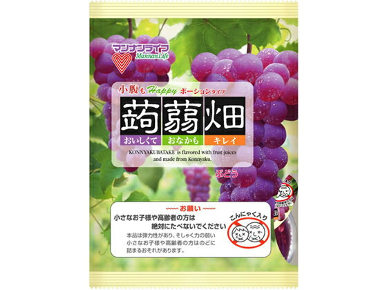 マンナンライフ/蒟蒻畑 ぶどう味 25g×12個入