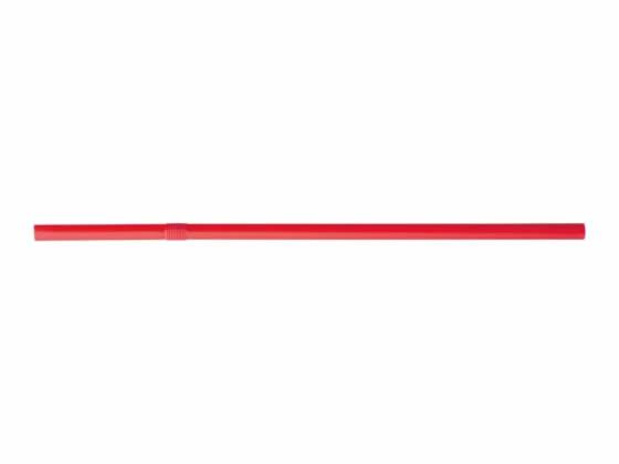 アートナップ/フレックスストロー(裸)赤 500本