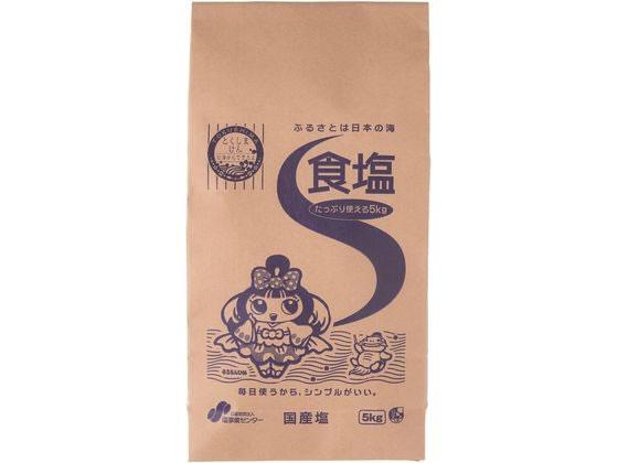 東京ソルト/塩事業センター 食塩5kgの商品画像