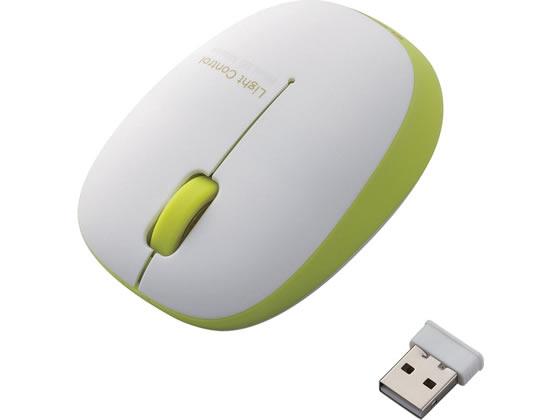 エレコム/BlueLEDマウス ワイヤレス 3ボタン グリーン/M-BL20DBGN【ココデカウ】