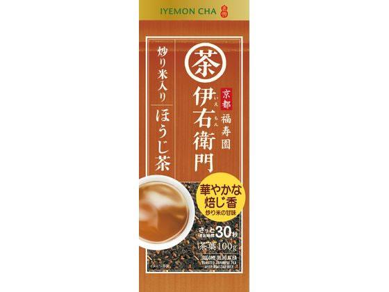 宇治の露/伊右衛門炒り米入りほうじ茶 100g