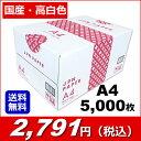 Forestway/国産コピー用紙 JPN A4 500枚×10冊