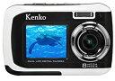 【中古】Kenko デュアルモニターデジタルカメラ DSC880DW IPX8相当防水 DSC880DW