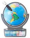 ショッピングパーフェクトグローブ 【中古】ドウシシャ しゃべる地球儀 パーフェクトグローブ HORIZON ホライズン