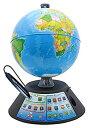 ショッピングパーフェクトグローブ 【中古】ドウシシャ しゃべる地球儀 パーフェクトグローブ GEOPEDIA ジオペディア
