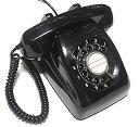 【中古】電電公社 600-A ダイヤル式電話機 (黒電話/カラー電話) (くろ)