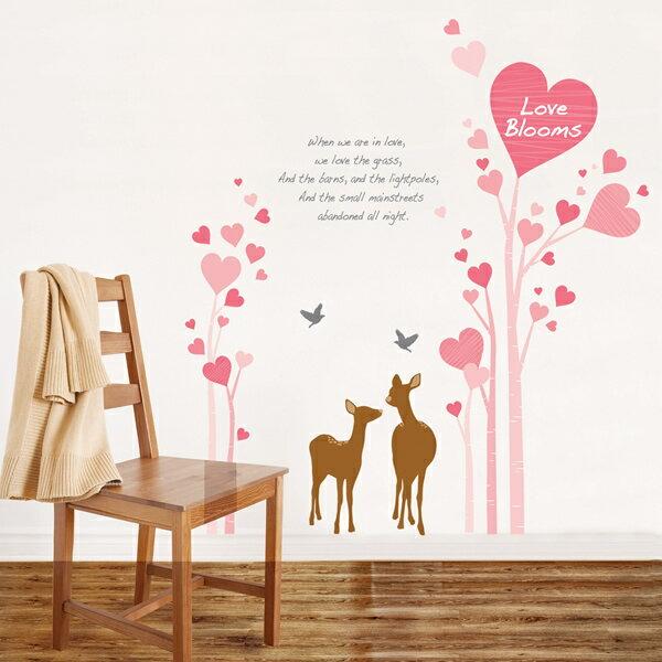 【送料無料】ウォールステッカー Love Blooms PS-60015 HYUNDAE社製 【送料無料・送料込】