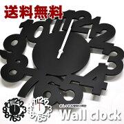 【送料無料】壁掛け時計 JACK オシャレ シンプル ホワイト・ブラック おしゃれ ウォールクロック【送料無料・送料込】