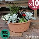 植木鉢 gardens(ガーデンズ) エコプランター 浅型 300 6L[八幡化成]【20P03Dec16】【ポイント10倍】【フラリア】