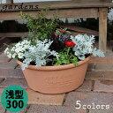 植木鉢 gardens(ガーデンズ) エコプランター 浅型 300 6L[八幡化成]【ポイント10倍】【フラリア】