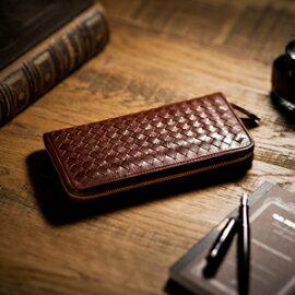 【伝統職人】【COCOMEISTER(ココマイスター)】マットーネ・オーバーザウォレットイタリアで千年以上もの歴史を誇る伝統皮革の長財布メンズ紳士物