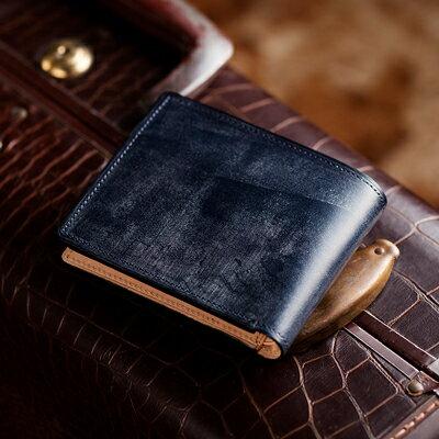 【伝統職人】【COCOMEISTER(ココマイスター)】ブライドル・インペリアルパース 英国1000年もの歴史を誇る伝統皮革 2つ折り財布 メンズ 紳士物