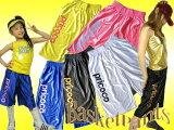【SALE】【ダンス衣装】バスケットパンツ(CJPR-01)(120cm〜160cm)【キッズダンス 衣装/ステージ衣装/HIPHOP/ダボパンツ/バスパン/バスケットパンツ/ヒッ
