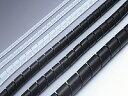 十川産業:サンスパイラルチューブ黒 100m SSPT-0406