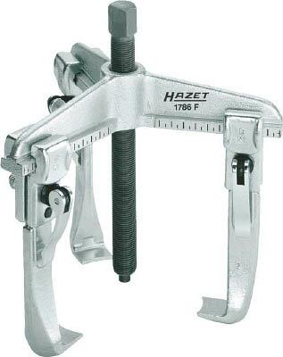 HAZET クイッククランピングプーラー(3本爪・薄爪)(1台) 1786F25  4392582 クイッククランピングプーラー(3本爪・薄爪) 4000896133574【少ない】