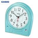 カシオ計算機(CASIO):電波 デスクトップ 目覚まし時計 TQ-580J-2JF