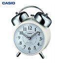 カシオ計算機(CASIO):電波 デスクトップ 目覚まし時計 TQ-720J-7JF