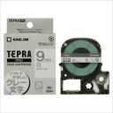 キングジム:「テプラ」PRO SRシリーズ専用テープカートリッジ 白ラベル 8m 白 グレー文字 9mm幅 SS9H 67102