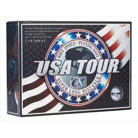 朝日ゴルフ:USA TOUR DISTANCE +α 12P WHITE
