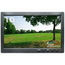 ブロードウォッチ:10.1INCH HDMI LCDモニター AC100V電源付 (HDMI,VGA,BNC,AV) SEC-LCD-10HINCH