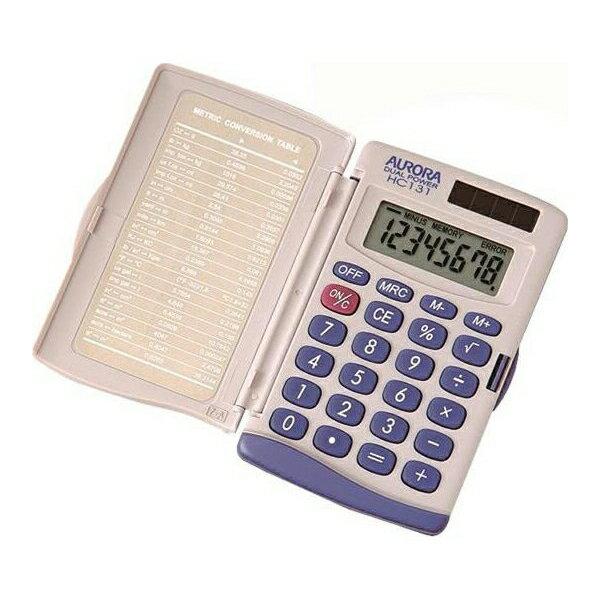 オーロラジャパン:電卓 ハンディタイプ HC131