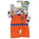 ペティオ:ドラゴンボール 猫用変身着ぐるみウェア 孫悟空 猫 アニメ キャラクター コスプレ ウェア 服 着ぐるみ