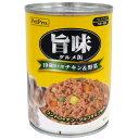 ペットプロジャパン:ペットプロ 旨味グルメ 10歳以上 チキン&野菜 375g