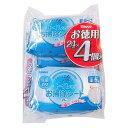シモジマ:SWAN そのまま流せるトイレのお掃除シート 4個パック 004771471