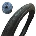 SHINKO(シンコー):実用車用タイヤ 26×1 3/8 B/E SR128 ブラック チューブセット SR128-26280017