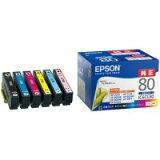 EPSON(エプソン):インクカートリッジ IC6CL80 6色パック 869884