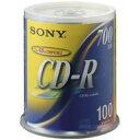 SONY(ソニー):CD-R (700MB) 100CDQ80DNS 100枚