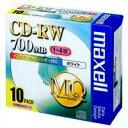 日立マクセル:CD-RW (700MB) 80PW.S1P10S 10枚