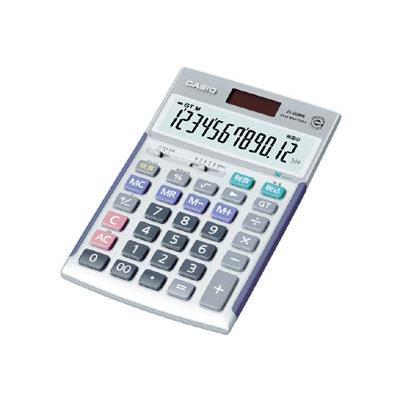 カシオ ジャストタイプ電卓(1台) JS20WK 3284981
