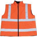 ショッピングBEST TRUSCO_フリース付安全ベスト XL オレンジ TFAB-OR-XL 8557763