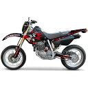 MDF(エムディーエフ) :グラフィックキット オフロード ブラッディーモデル [ホンダ] XR250MOTARD (06-) ライトカウルセットレッド MXRMO06-C-RD-LC