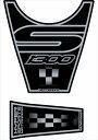 MOTOGRAFIX(モトグラフィックス):タンクパッド ブラック BMW K1300S MT-TB006K