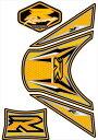 MOTOGRAFIX(モトグラフィックス):タンクパッド イエロー SUZUKI GSXR1000 12- MT-TS025Y